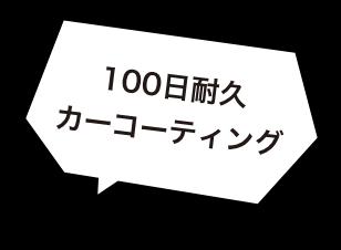 100日耐久カーコーティング
